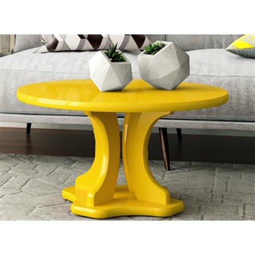 Mesa de Centro Mariana Patrimar Amarelo