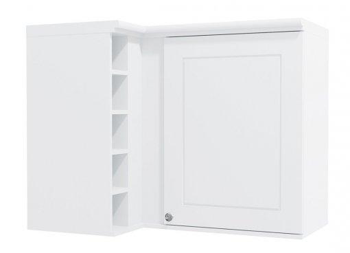 Armário de Cozinha Aéreo Kappesberg G629 Canto Reto 1 porta Branco