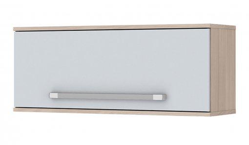 Aéreo 1 Porta Basculante 80cm Smart Henn Fendi/Branco HP