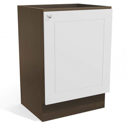 Balcão de Cozinha Kappesberg Provenzza G602 1 Porta 60cm Jacaranda/Branco