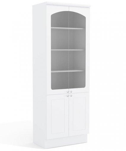 Cristaleira Cozinha Kappesberg G612 4 portas Alto Branco