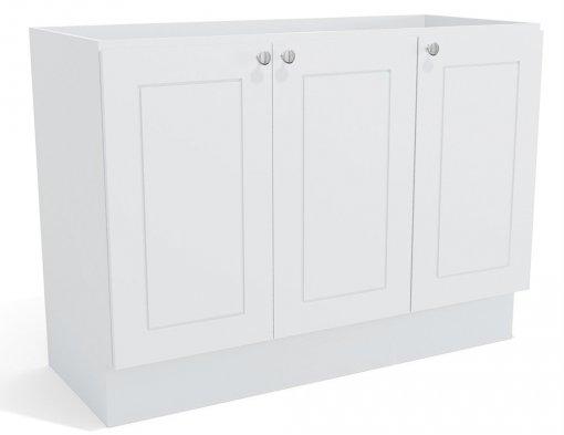 Balcão de Pia Kappesberg Provenzza G607 3 Portas 120cm Branco