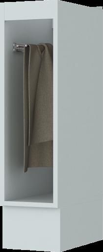 Balcão Henn Americana Porta Toalha 200mm Branco HP