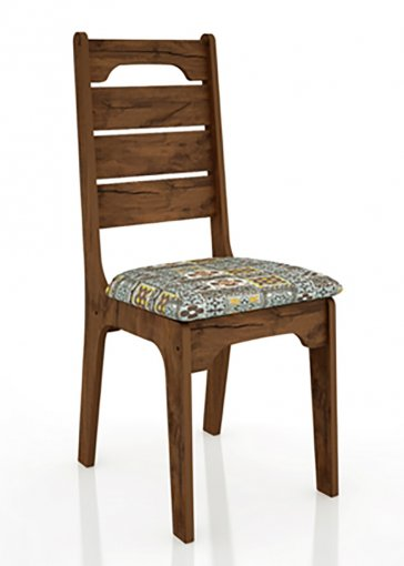 Cadeira CA28 18mm Assento Estofado Dalla Costa
