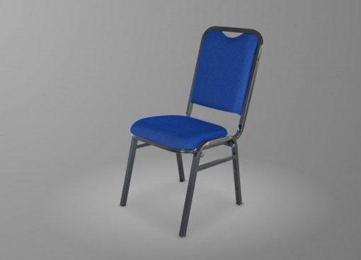 Cadeira Fixa Realme Hotel Grande 180G Tecido Azul