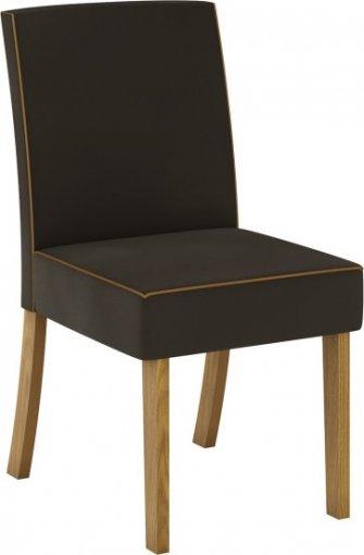 Conjunto 02 Cadeiras Henn Maris Nature/Marrom