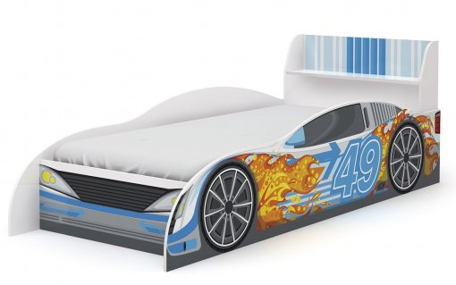Cama Infanto Carro D300 Kappesberg Azul