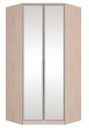 Canto Closet 02 Portas de Espelho Diamante Henn Fendi