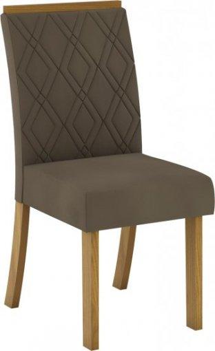 Conjunto 02 Cadeiras Henn Vita Nature/Bege