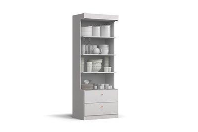 Cristaleira Para Cozinha Kappesberg F745 Branco