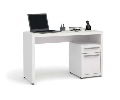Escrivaninha Kappesberg S970 1 Porta e 1 Gaveta Branco
