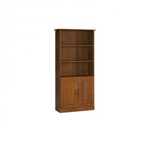 Estante para Livros 02 Portas 1905T Dolimar Office Imbuia