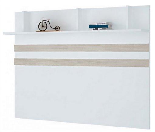 Kit Fundo 205cm Exclusive Henn Branco HP/Carvalho