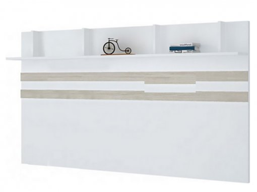 Kit Fundo 245cm Exclusive Henn Branco HP/Carvalho