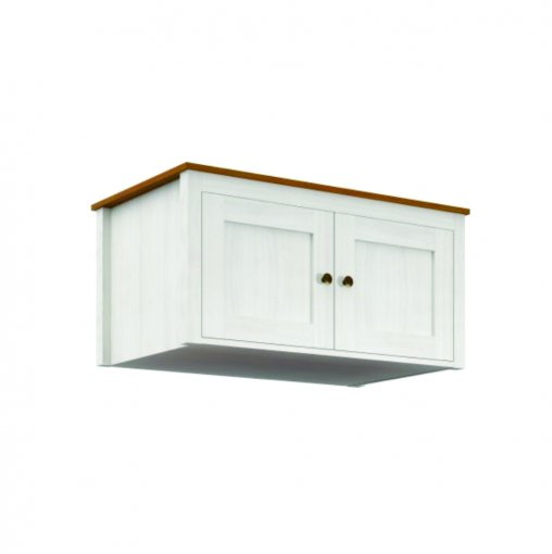 Maleiro Topázio Finestra 2 Portas Ref: 9106B Branco