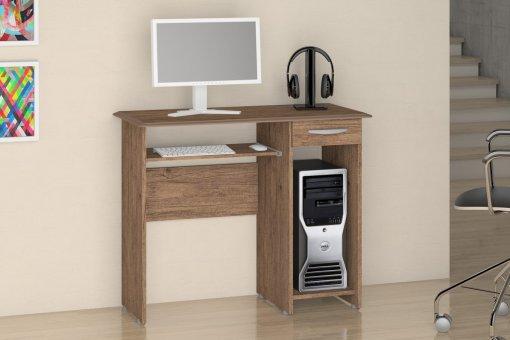 Mesa De Computador Siena New Notável Castanho