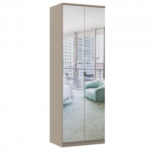Módulo Quarto Linha Elegance Castro 2 Porta C/ Espelho