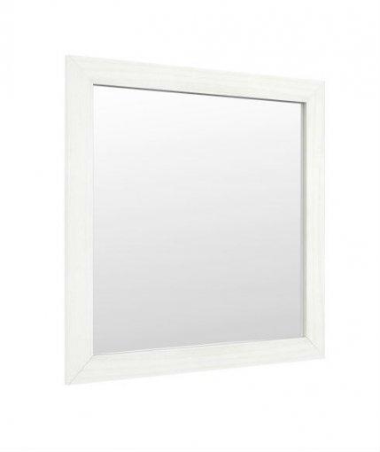 Moldura Com Espelho 80x80 Finestra Topázio 9109 Branco