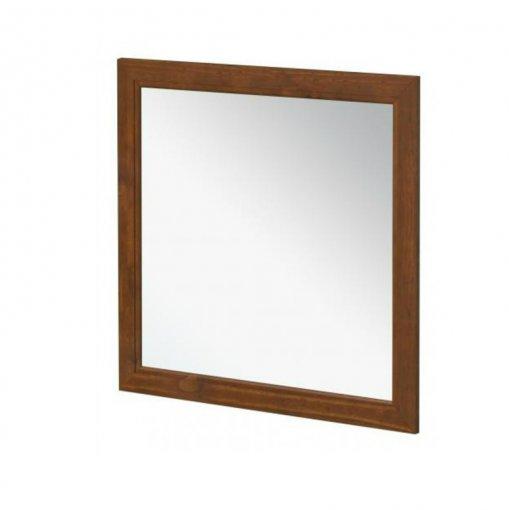 Moldura com Espelho 90x90cm 1416T Finestra Esmeralda Imbuia