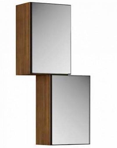 Nicho 2 Portas com Espelho TB99E Dalla Costa Nobre
