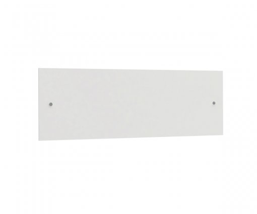 Painel para Dormitório Modulado Kappesberg A903 Branco Brilho