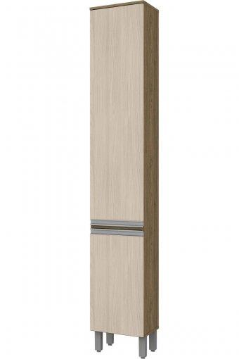 Paneleiro 2 Portas 35cm Integra Henn Rústico/Fendi