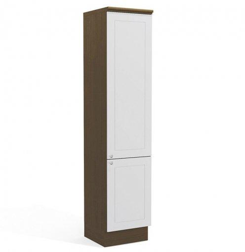 Paneleiro 2 Portas G609 Kappesberg Provenzza Jacaranda com Branco
