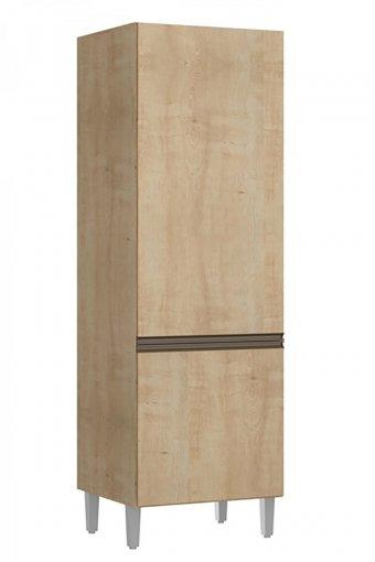 Paneleiro Amália 2 Portas 55cm 2626 Casamia Nogueira