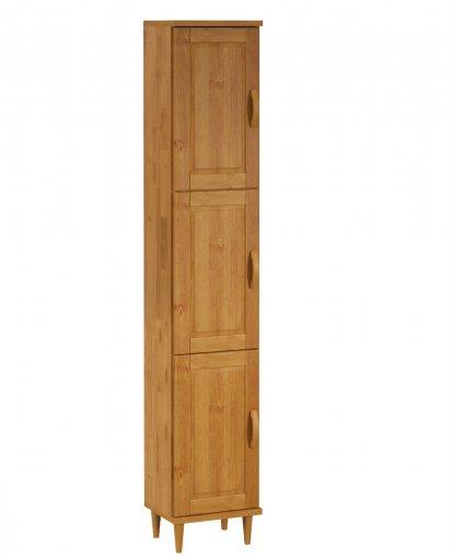 Paneleiro Finestra Jade 03 Portas Nogueira