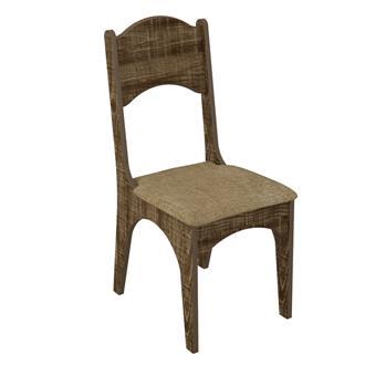 Imagem - Cadeira CA18 Dalla Costa Assento Estofado Rústico cód: 1744