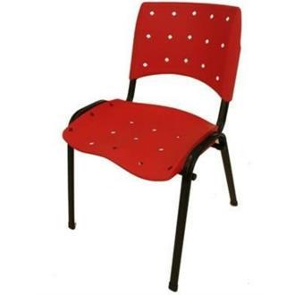 Imagem - Cadeira Linha Iso Ergonômica CI-02 Vermelho Pethiflex cód: 491