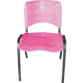 Imagem - Cadeira Linha Iso Ergonômica CI-02 Rosa Pethiflex cód: 492