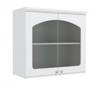 Imagem - Armário de Cozinha Aéreo Kappesberg G625 2 Portas com Vidro Branco cód: 3117