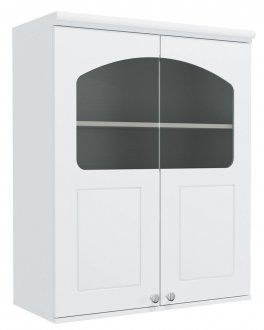 Imagem - Armário de Cozinha Aéreo Kappesberg G626 2 portas com Vidro Branco cód: 3101