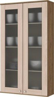 Imagem - Aéreo Cristaleira 2 Portas 700cm Space Henn Rústico com Fendi cód: 3324