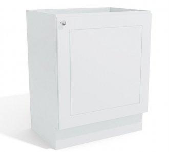 Imagem - Balcão de Cozinha Kappesberg G604 1 Porta Branco cód: 3109