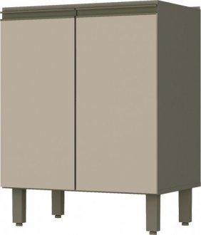Imagem - Balcão de Cozinha Henn Connect 2 Portas 60cm Duna Cristal cód: 3251