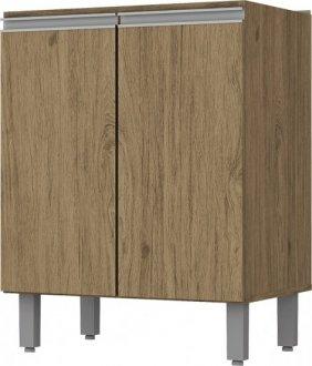 Imagem - Balcão de Cozinha 02 Portas 600mm Integra Henn Rústico cód: 3303