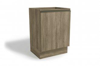 Imagem - Balcão de Cozinha Kappesberg G742 1 Porta 60cm Nogal cód: 35036