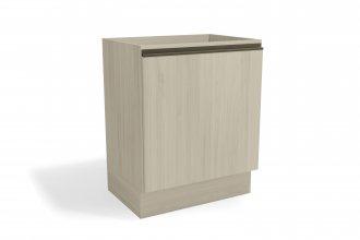 Imagem - Balcão de Cozinha Kappesberg G754 1 Porta 70cm Amêndoa cód: 35041