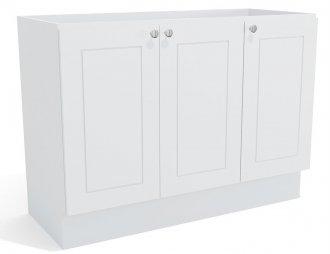 Imagem - Balcão de Pia Kappesberg Provenzza G607 3 Portas 120cm Branco cód: 3129