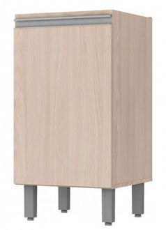 Imagem - Balcão de Cozinha Henn Connect 1 Porta 40cm Fendi cód: 2471