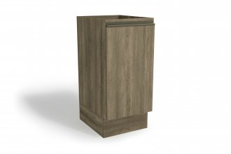 Imagem - Balcão de Cozinha Kappesberg 40cm 1 Porta Nogal cód: 35035