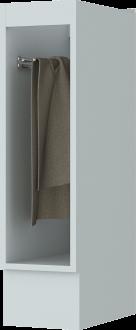 Imagem - Balcão Henn Americana Porta Toalha 200mm Branco HP cód: 36729