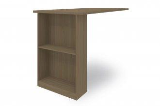 Imagem - Bancada para Kit de Cozinha Compacta E781 Kappesberg Nature Brilho cód: 35097
