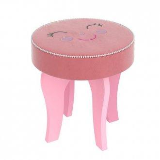 Imagem - Banqueta Encanto Pura Magia Premium Rosa cód: 35704
