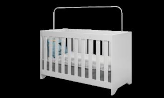 Imagem - Berço Mini Cama 3 em 1 Baby Travessura Plus Multimóveis 0527 MDP / MDF cód: 37668