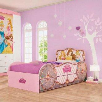 Imagem - Bicama Princesa Pura Magia Disney Fun Rosa cód: 35654