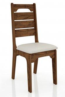 Imagem - Cadeira CA28 18mm Assento Estofado Dalla Costa cód: 2342