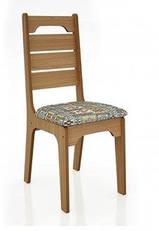 Imagem - Cadeira CA28 18mm Assento Estofado Dalla Costa cód: 2334